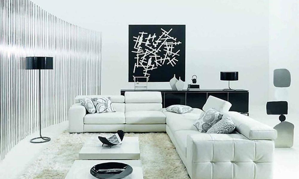 contoh desain ruang tamu minimalis 4