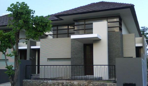 contoh eksterior rumah minimalis 1
