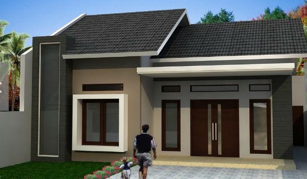 contoh eksterior rumah minimalis 2