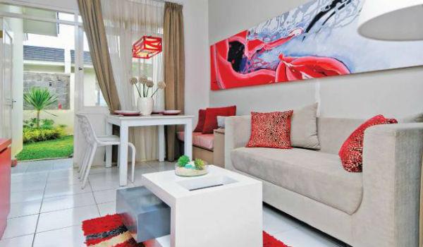 contoh ruang keluarga dan tamu 2