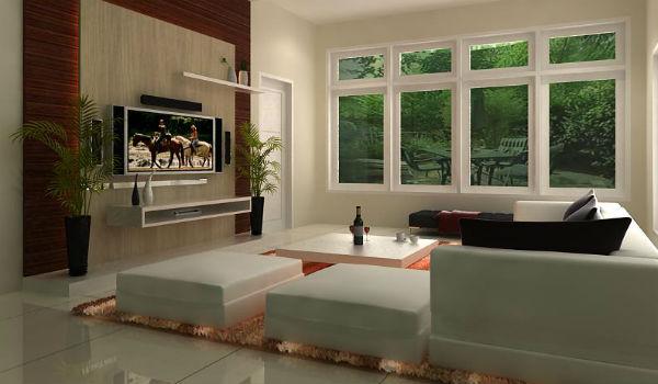Ruang Tamu Kecil Dan Simple Desainrumahid Com
